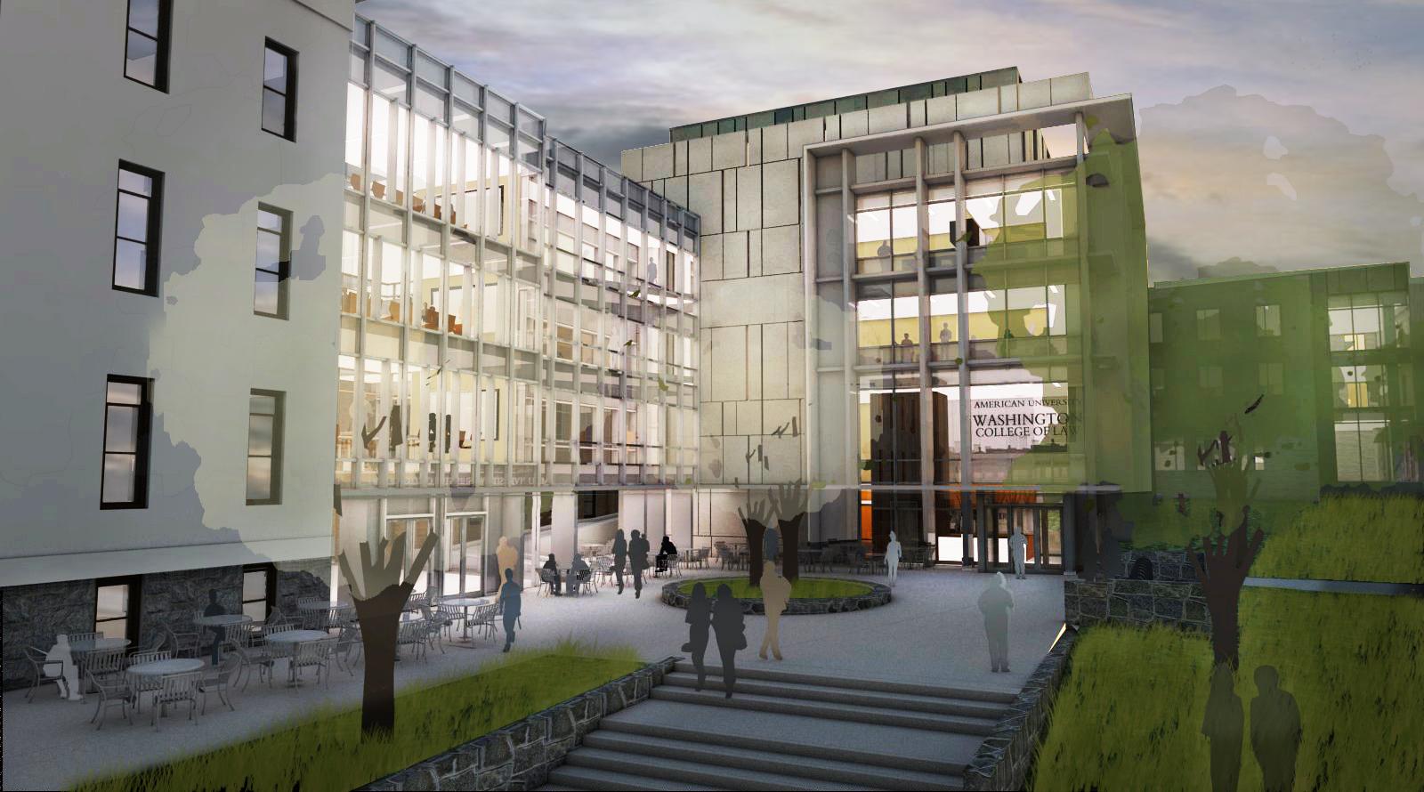 American University Law School >> The Buildings Yuma Hall Tenley Campus